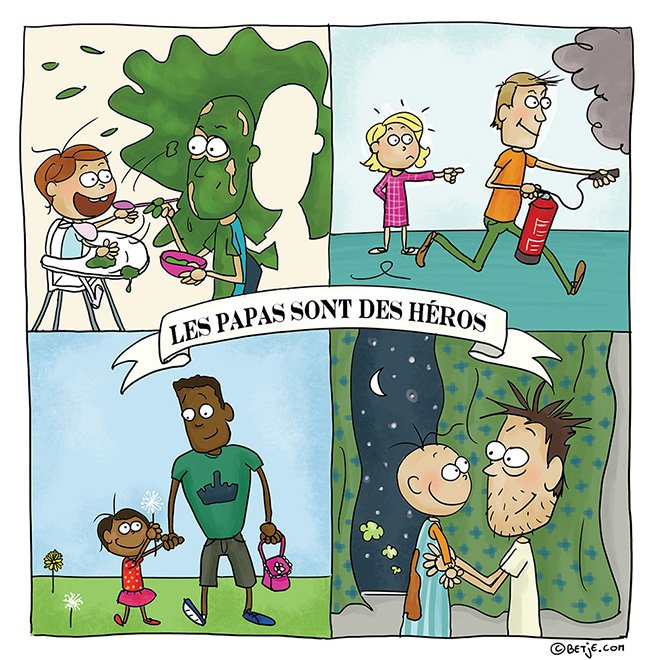 11 maman de 3 enfants elle illustre son quotidien avec beaucoup d humour papa heros