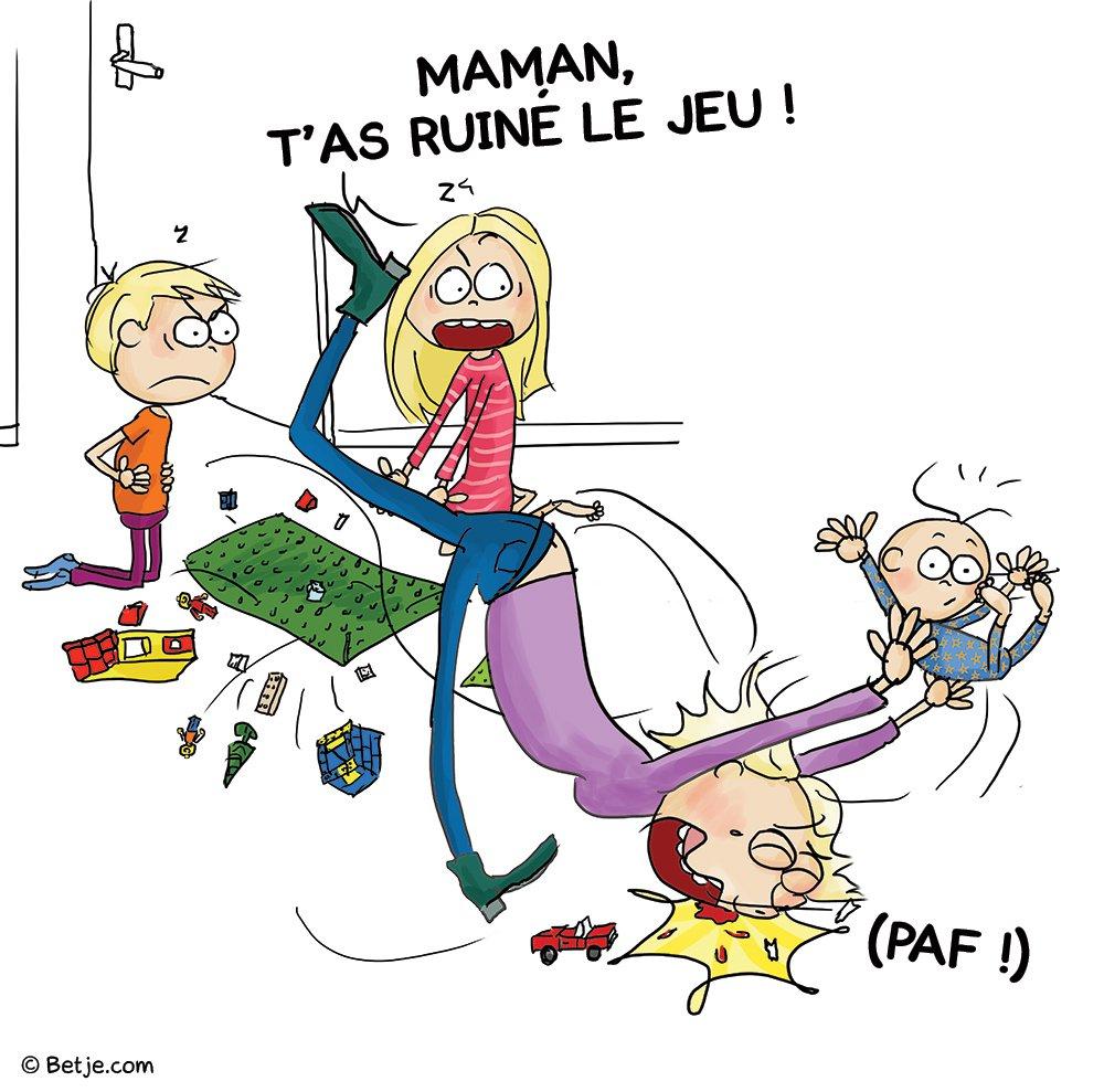 4 maman de 3 enfants elle illustre son quotidien avec beaucoup d humour jeu