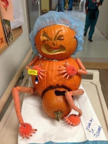 halloween a la maternite
