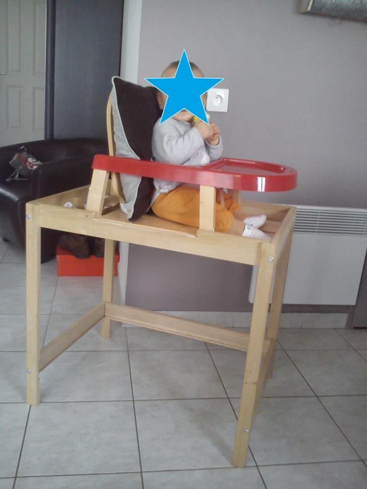 invention maman handicapee pour sccuper de bebe chaise pour bebe
