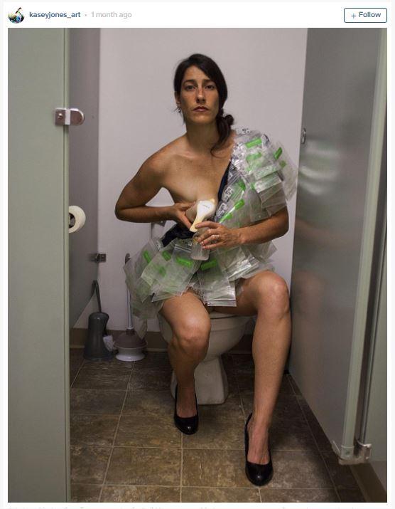 robe d allaitetement pour denoncer les diktats de la societe 1