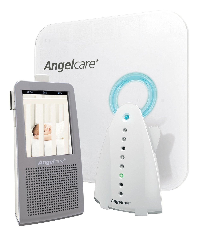 Angelcare - Ecoute-bebe AC1100 son mouvement video et veilleuse