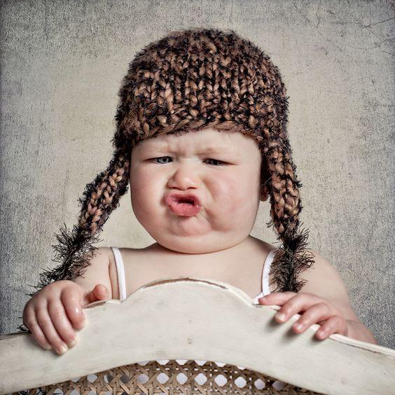 bebe fait des grimaces (5)