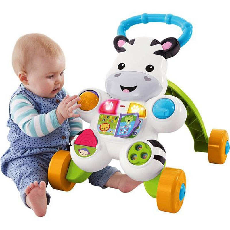 6 - FISHER PRICE - zebre parlant