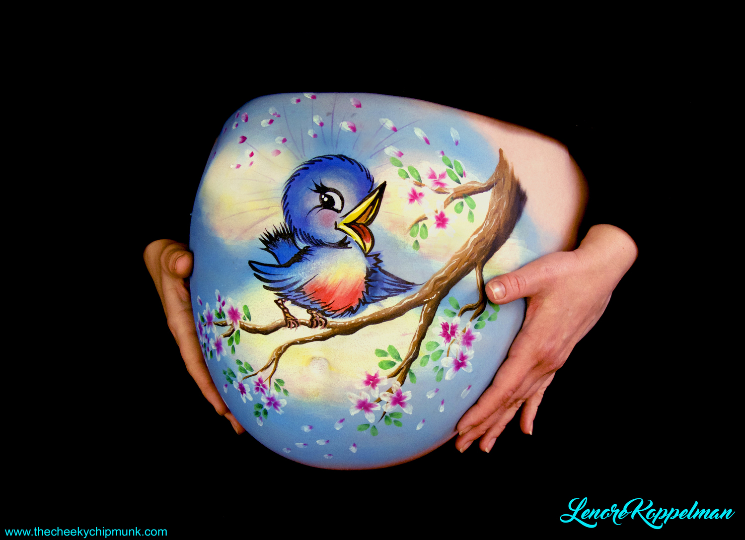 6 incroyables body painting 04