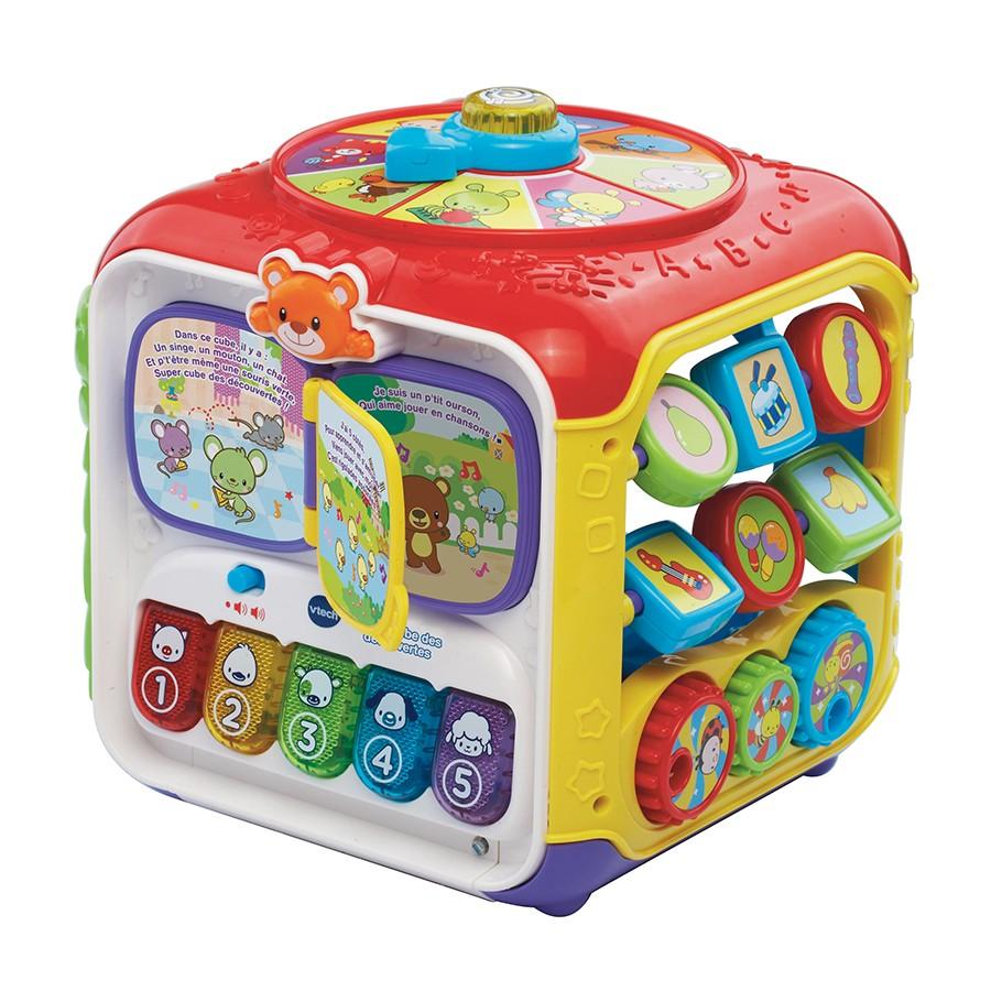 7 - VTECH - cube des decouvertes