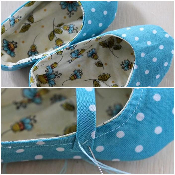 DIY chaussures bebe LANIERE