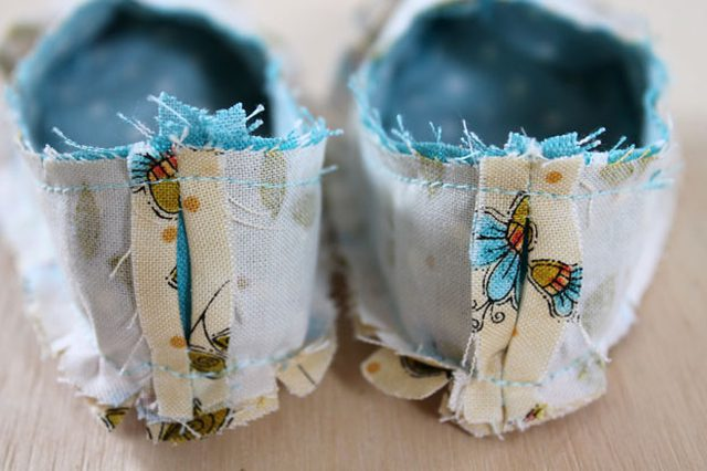 DIY chaussures bebe couture 7