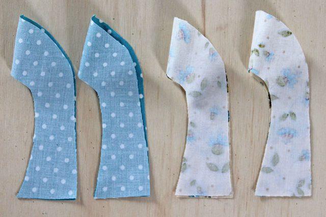 772a4af109292 Comment fabriquer soi-même d adorables chaussons en tissu pour bébé ...