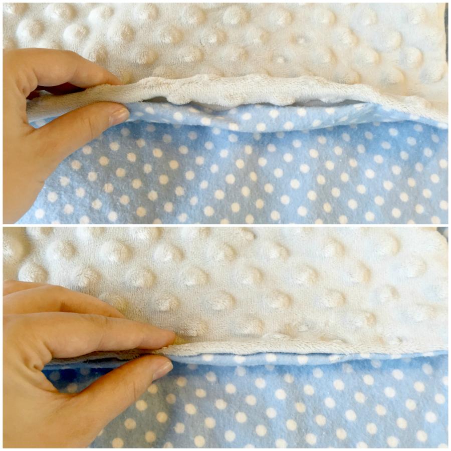 comment fabriquer une couverture toute douce pour b u00e9b u00e9 en