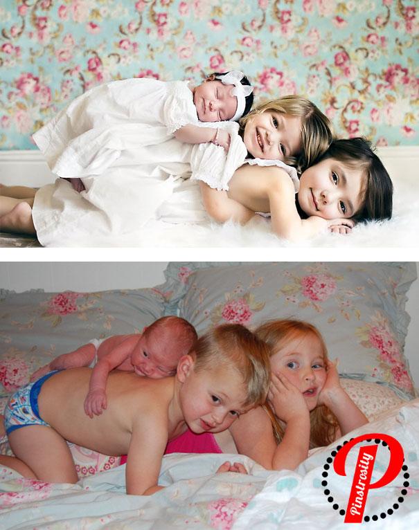 ces parents ont tente de reproduire des cliches avec leur bebe et se sont bien rate 09