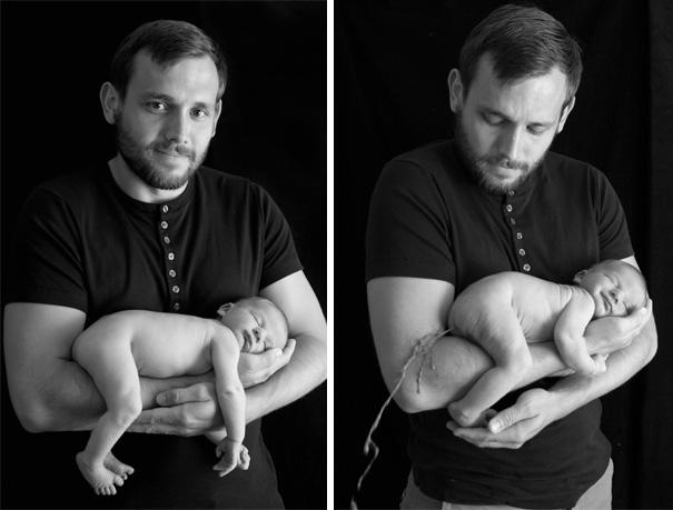 ces parents ont tente de reproduire des cliches avec leur bebe et se sont bien rate 12