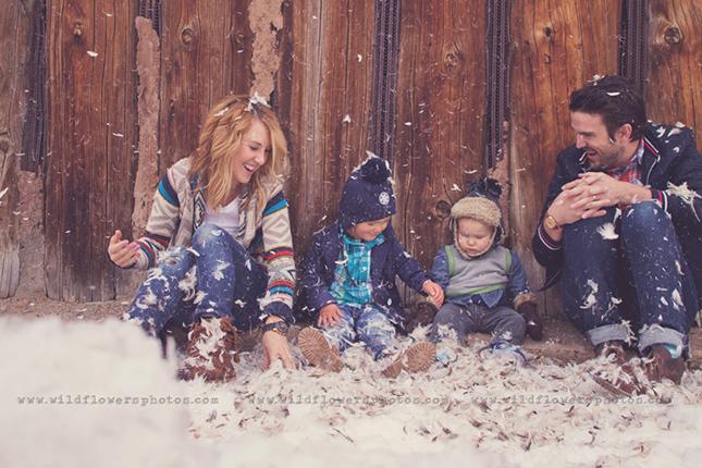 photos de famille noel chou 1