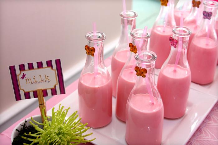 visuels DIY lait a la fraise