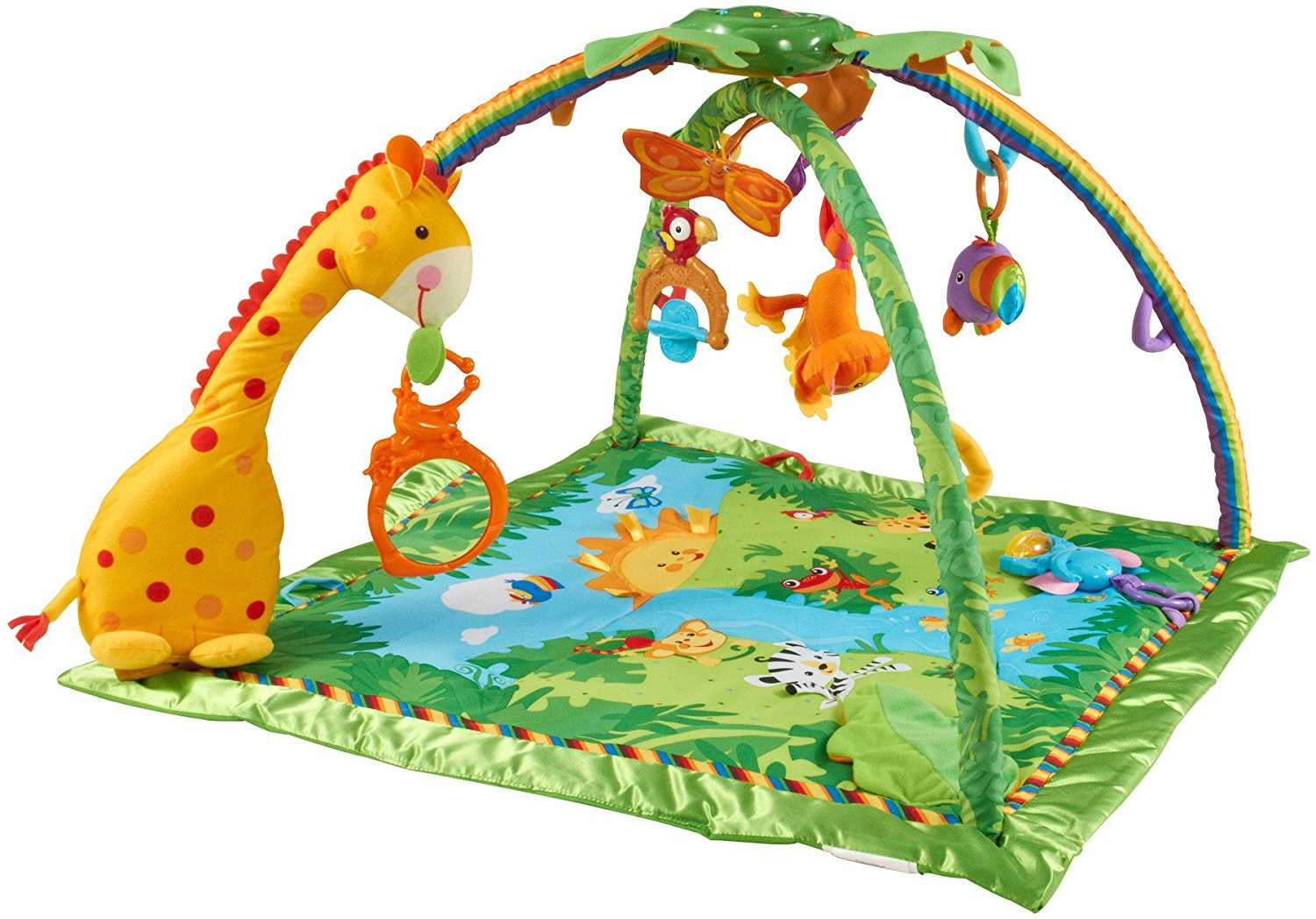 Bons plans transat balance soft beige babybj rn tapis de la jungle fisher price - Tapis animaux de la jungle ...