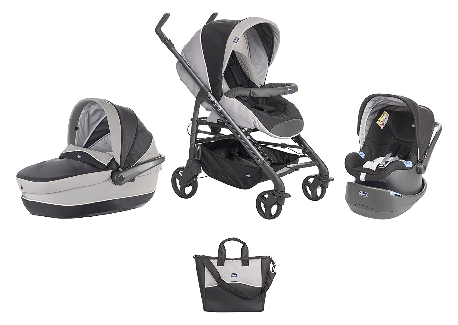 Poussette Trio Love Motion Chicco