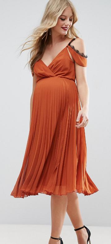 8 robes de grossesse qui sublimeront avec l gance vos formes si vous tes invit e un mariage. Black Bedroom Furniture Sets. Home Design Ideas