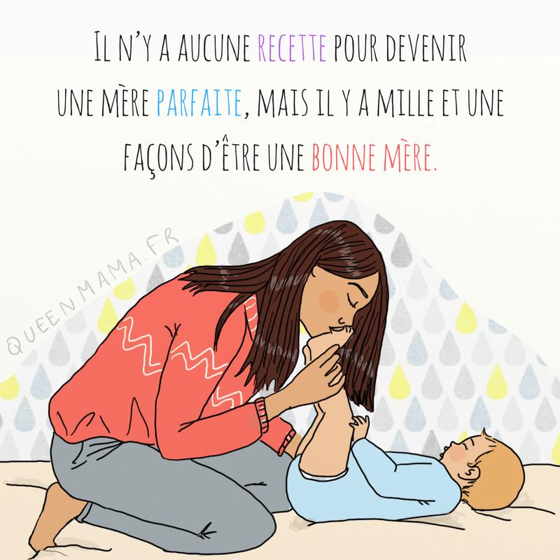dessin sur la grossesse et la vie de maman de queen mama (1)