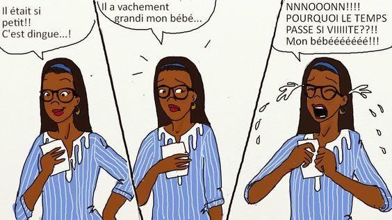 dessin sur la grossesse et la vie de maman de queen mama (10)