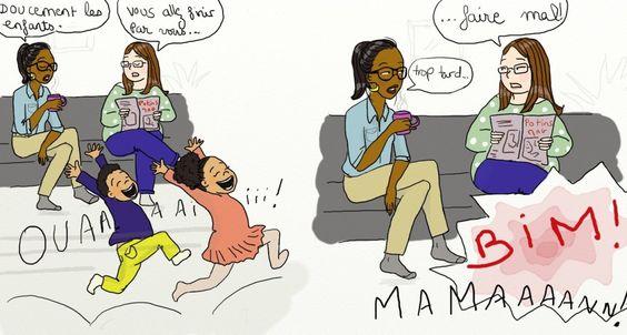 dessin sur la grossesse et la vie de maman de queen mama (11)