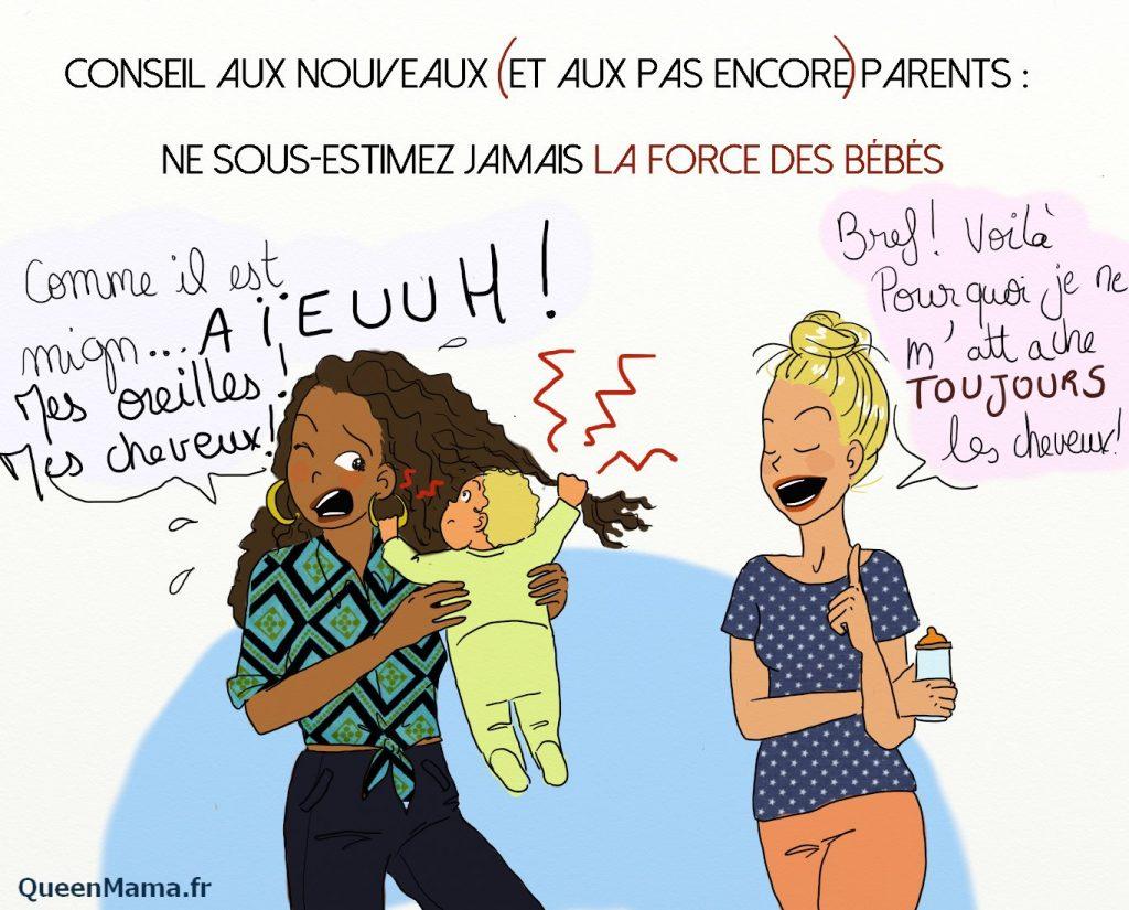 dessin sur la grossesse et la vie de maman de queen mama (18)