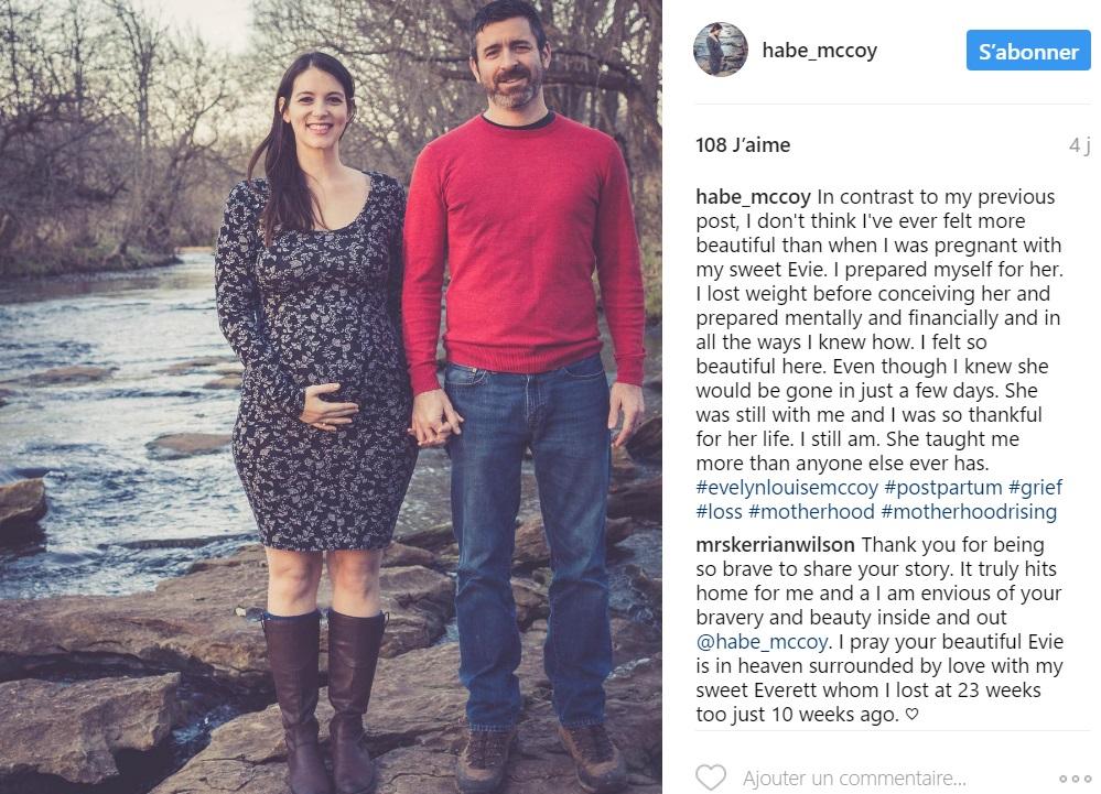 femme-perdu-bebe-6-mois-grossesse-combat-corps-post-grossesse-post-instagram