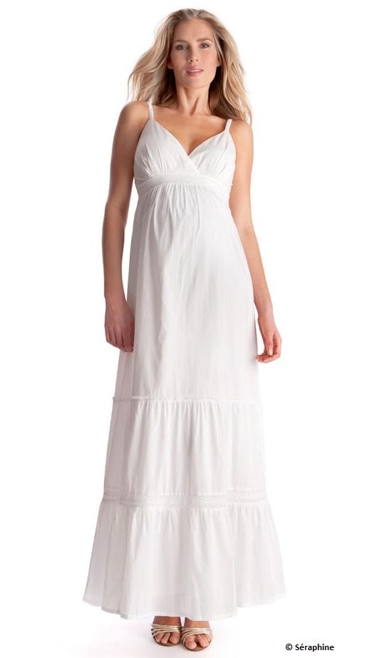 robe de grossesse blanche gallery of dentelle robe grossesse with robe de grossesse blanche. Black Bedroom Furniture Sets. Home Design Ideas