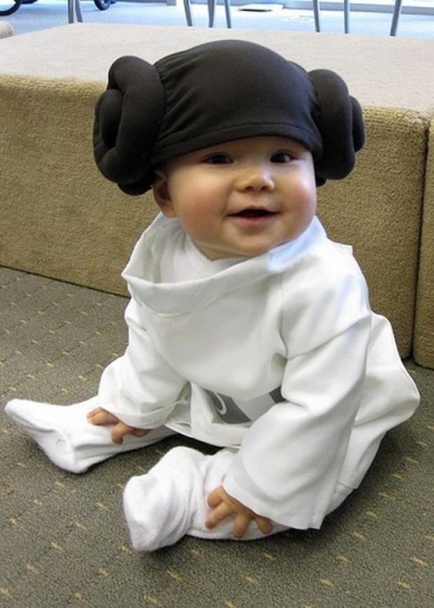 Bébé en Leia