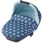Nacelle compacte, Bébé Confort avec motif bleu