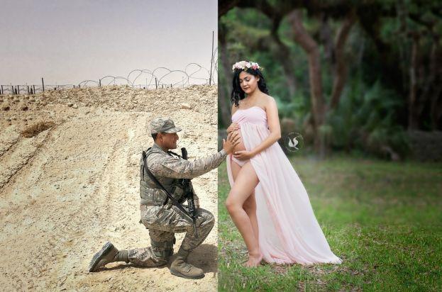 photo maman soldat