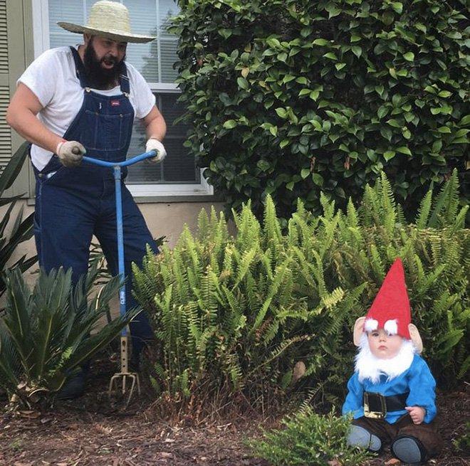 Sholom et zoé nain de jardin