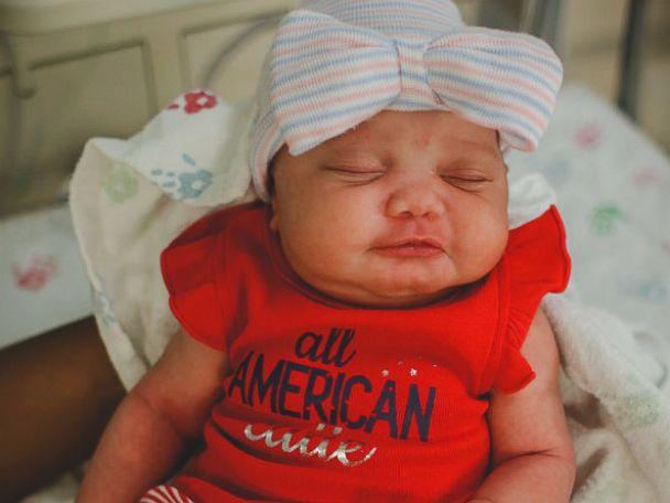 bébé 4 juillet 2
