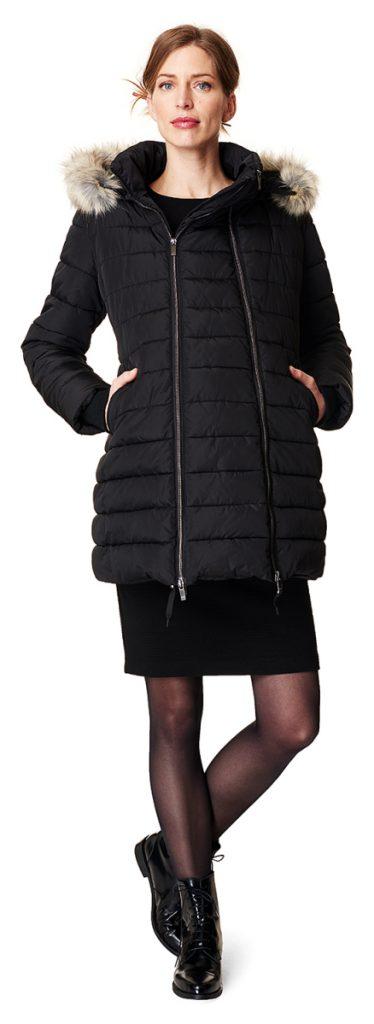 10 manteaux de grossesse au col tout doux tendance hiver 2018. Black Bedroom Furniture Sets. Home Design Ideas