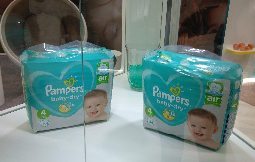 Les nouvelles couches innovantes de pampers pour la s curit et le bien tre de b b - Couche naissance pampers ...