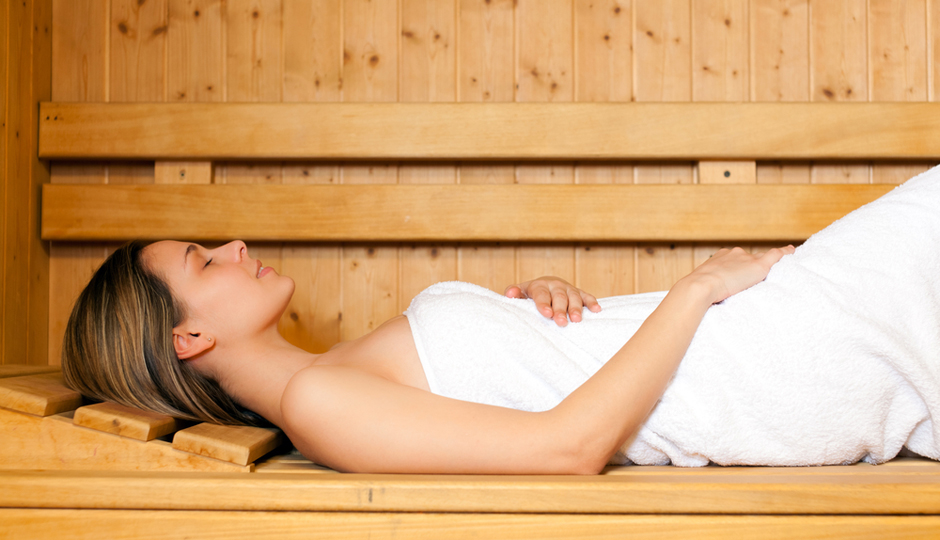 sauna femme enceinte