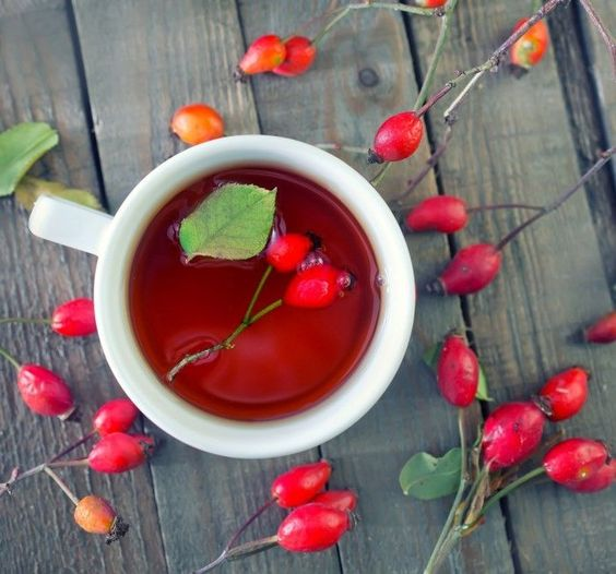 recettes riches en vitamines-neuf mois-thé