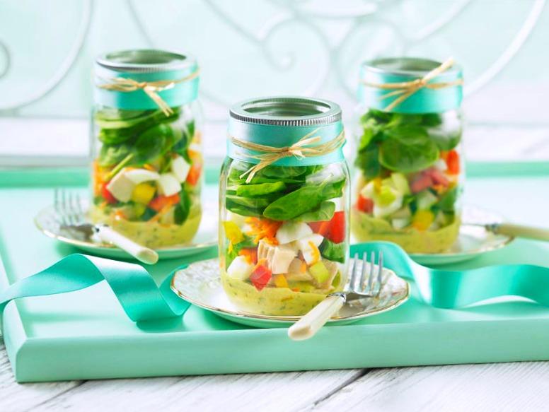recettes riches en vitamines-neuf mois-verrine