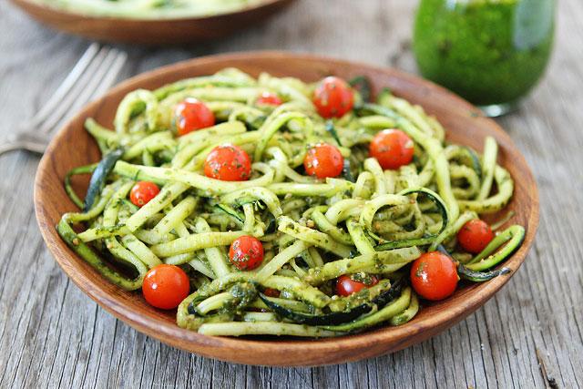 recettes riches en vitamines-neuf mois-spaghettis