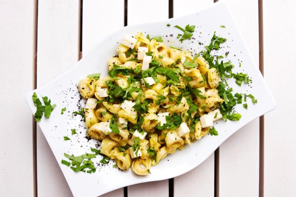 recettes riches en vitamines-neuf mois-tortellinis