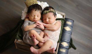 Quand une coïncidence à la maternité se transforme en un magnifique shooting de naissance Shakespearien !