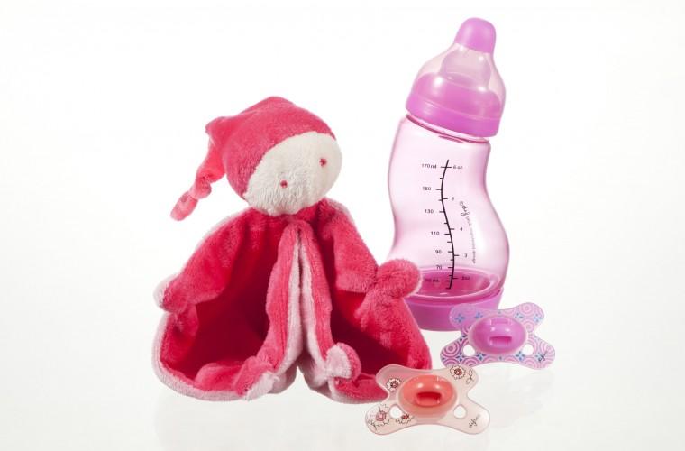 A gagner aujourd'hui : un set cadeau bébé pour fille de Difrax