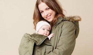8 manteaux de portage pour se balader avec bébé pendant l'hiver