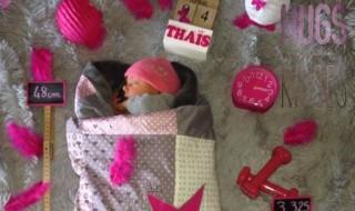 Une annonce de naissance rose rose rose et si tendre !