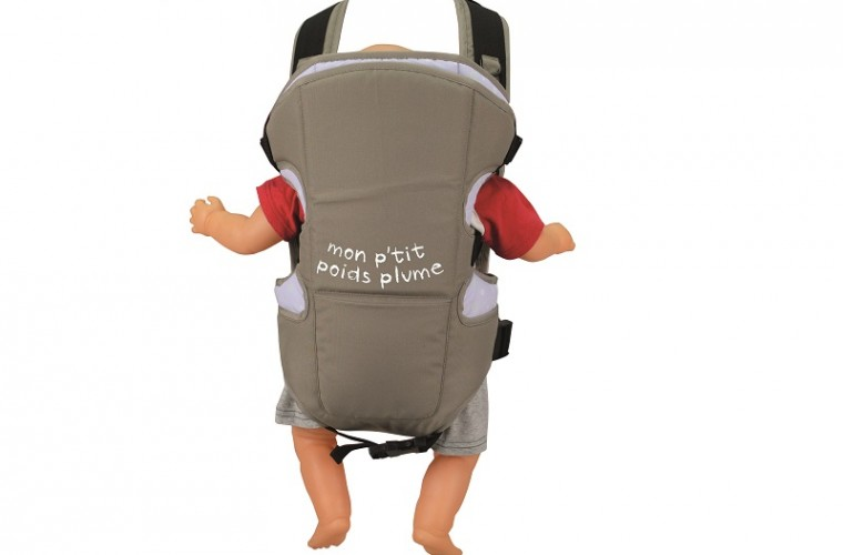 A gagner aujourd'hui : un Porte bébé Plume de babybus
