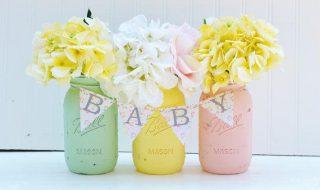8 idées pour mettre en scène une baby shower toute douce couleur pastel