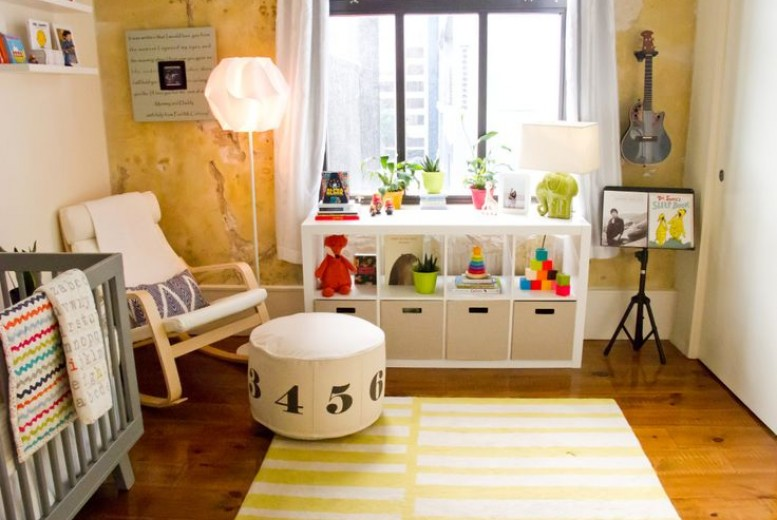 3 inspirations de chambres pour bébé où jaune est roi - Neufmois.fr