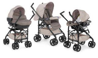 Bons plans : Trio Sprint poussette Sand Chicco, chaise haute Slim Prune Babymoov…