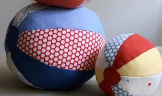 DIY : des ballons complètement fun en tissu pour amuser bébé
