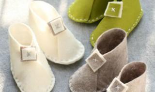 DIY : Des chaussons tout doux pour des petits petons bien au chaud