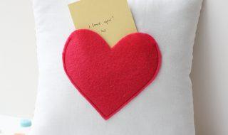 Fabriquons le coussin parfait pour laisser des petits mots doux dans la chambre de bébé !